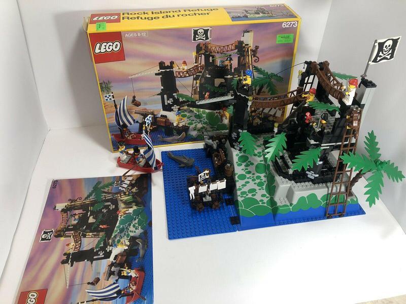 Rock Island Refuge Lego