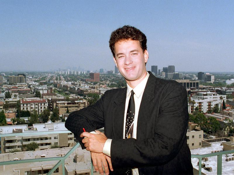 Tom Hanks in Los Angeles in 1988