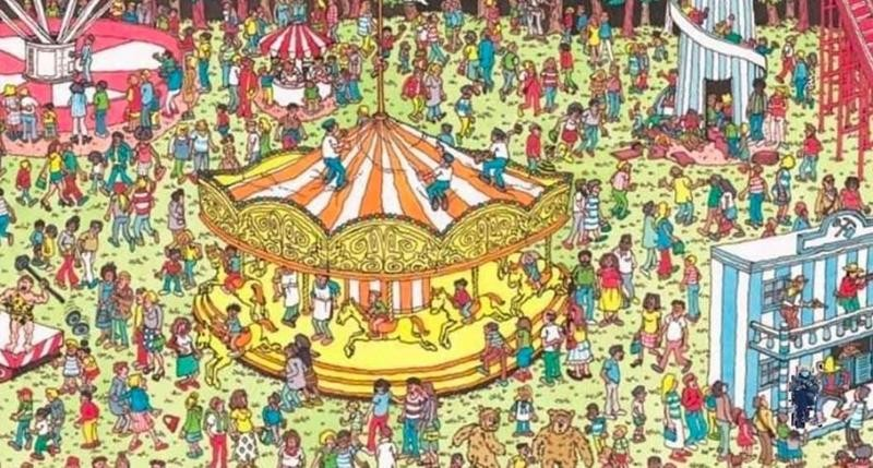 Bernie Sanders in Where's Waldo