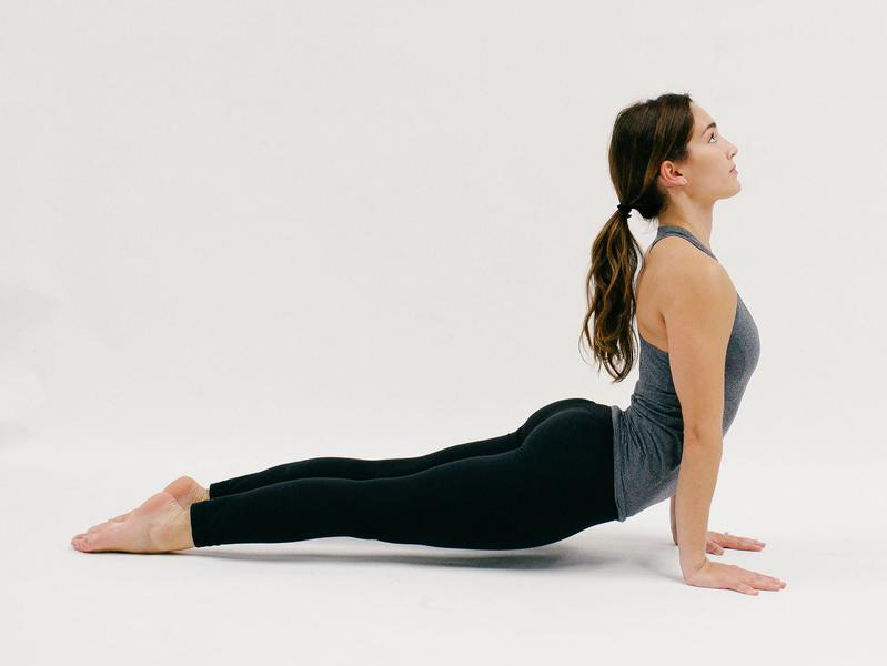 Upward Facing Dog - 10 Minutes of Yoga to Jumpstart Your Work Day