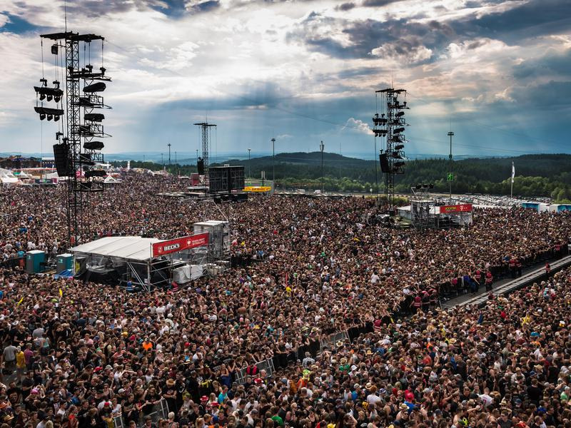 Rock am Ring and Rock im Park