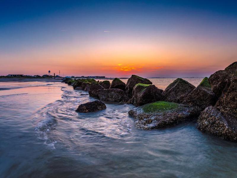 Sunset in Tybee Island