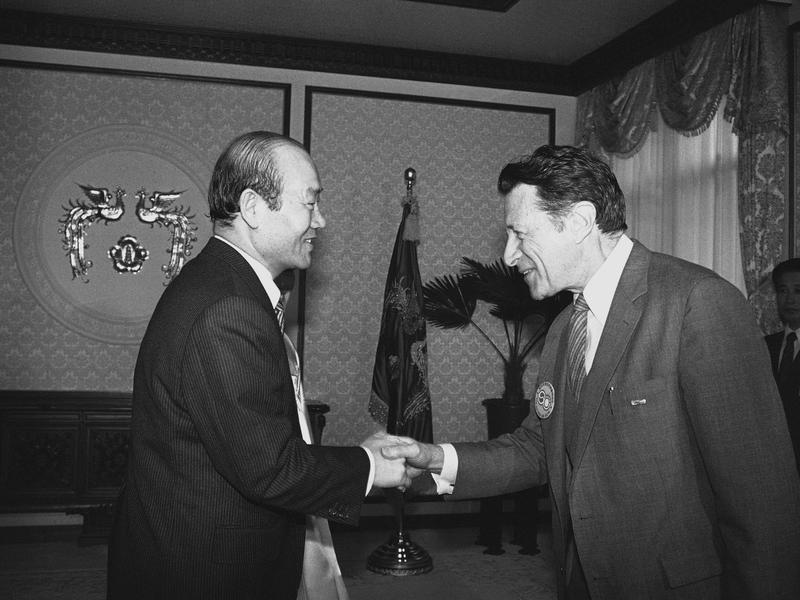 South Korea President Chun Doo-hwan