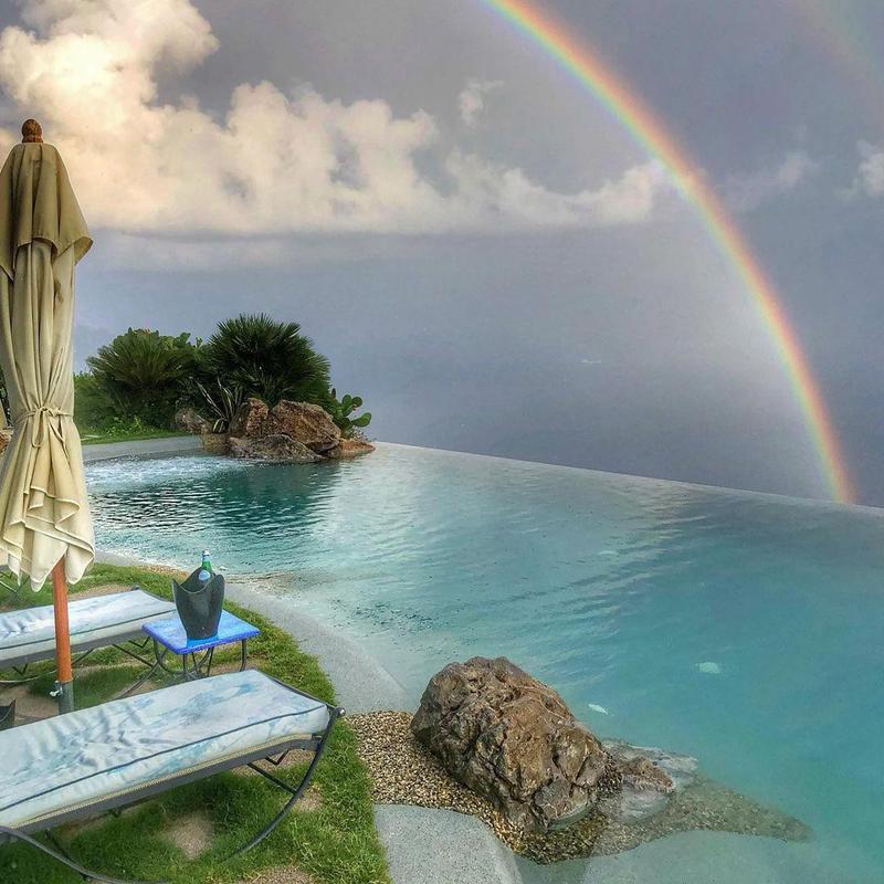 Under the Rainbow on the Amalfi Coast