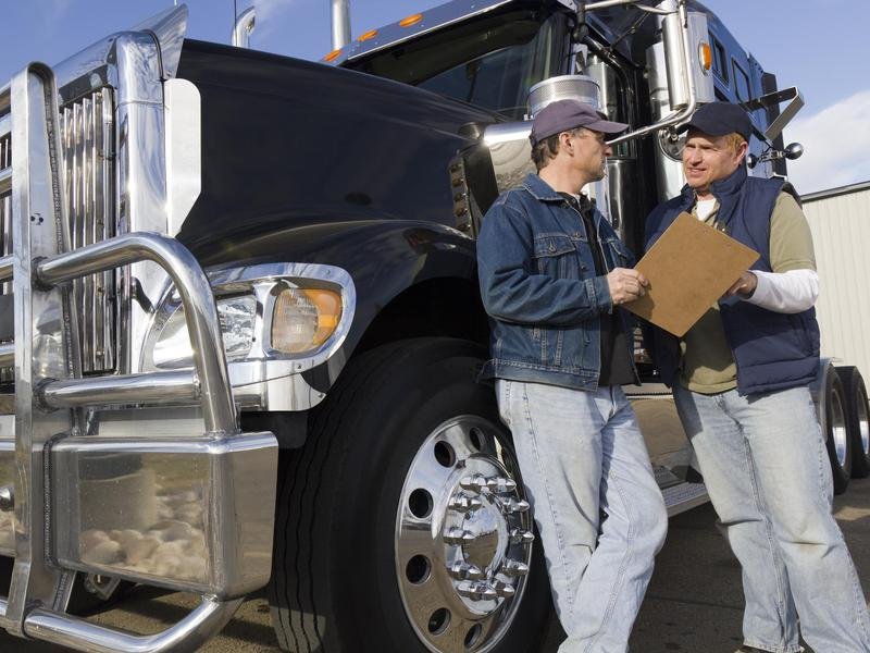 Truckers and drivers
