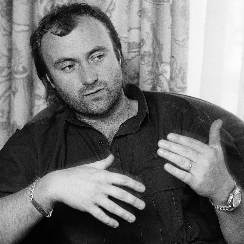 Phil Collins in 1985