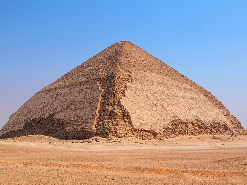 The Bent Pyramid at Dahshour