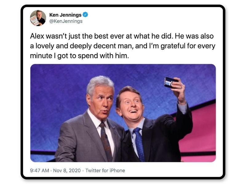 Jeopardy contestant Ken Jennings