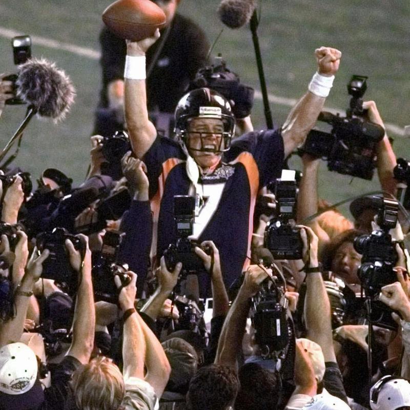 John Elway in Super Bowl XXXII