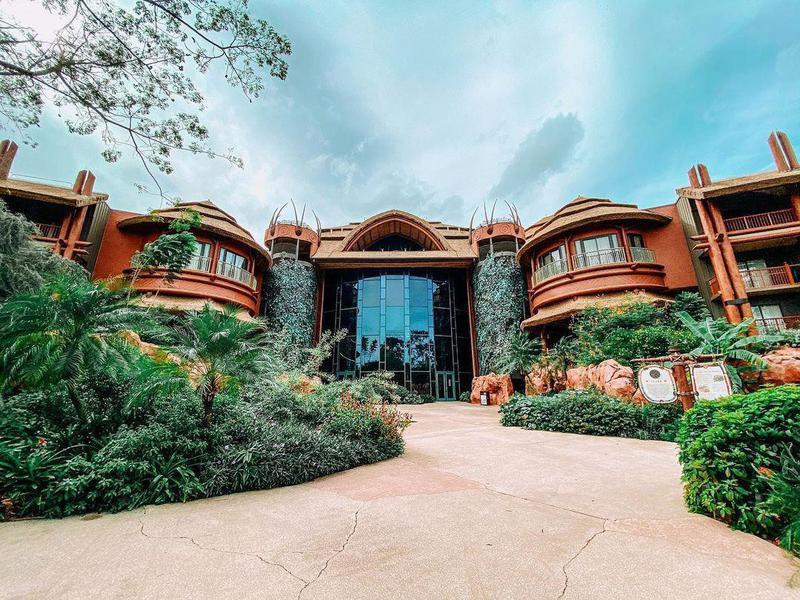 The Exterior of Disney's Animal Kingdom Villas- Jambo