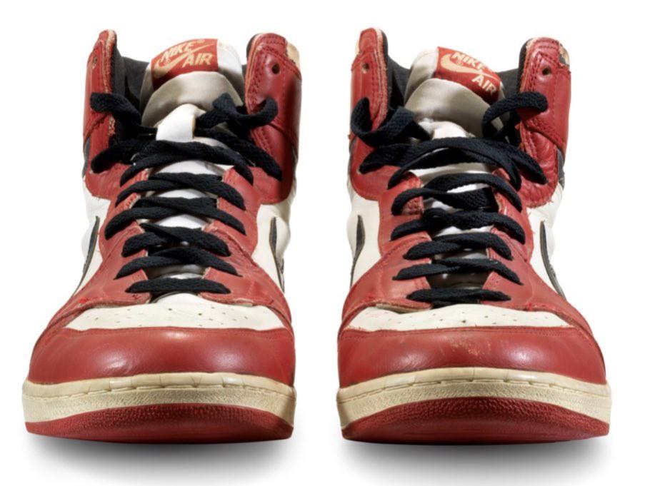 "Michael Jordan's ""Shattered Backboard"" Nike Air 1s"