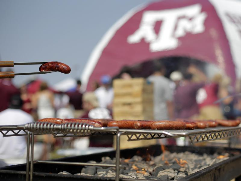 College football tailgating