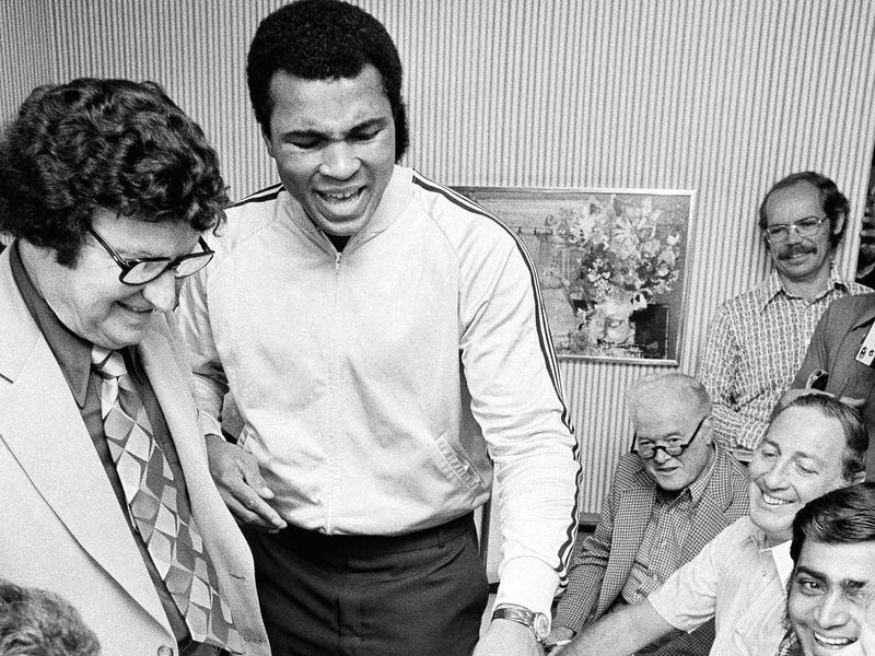 Muhammad Ali and Jimmy Grippo