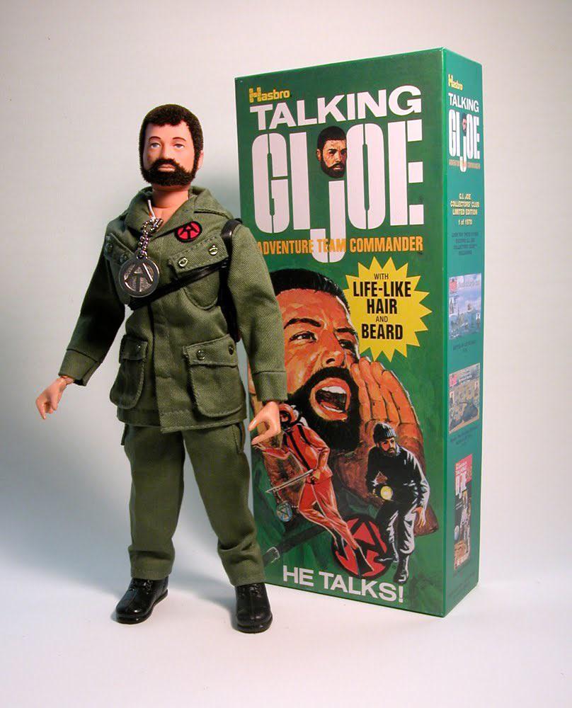 1975 Talking G.I. Joe Adventure Team Commander