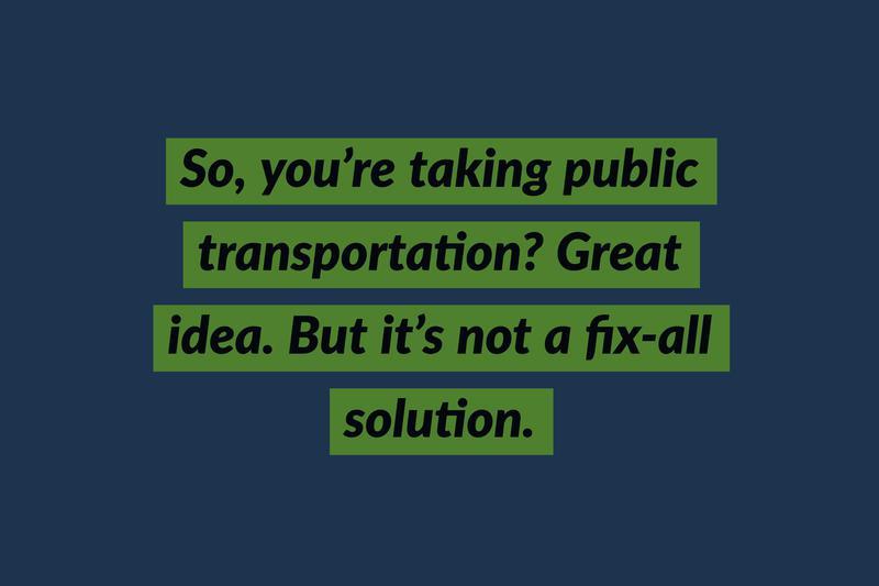 commuting public transporation
