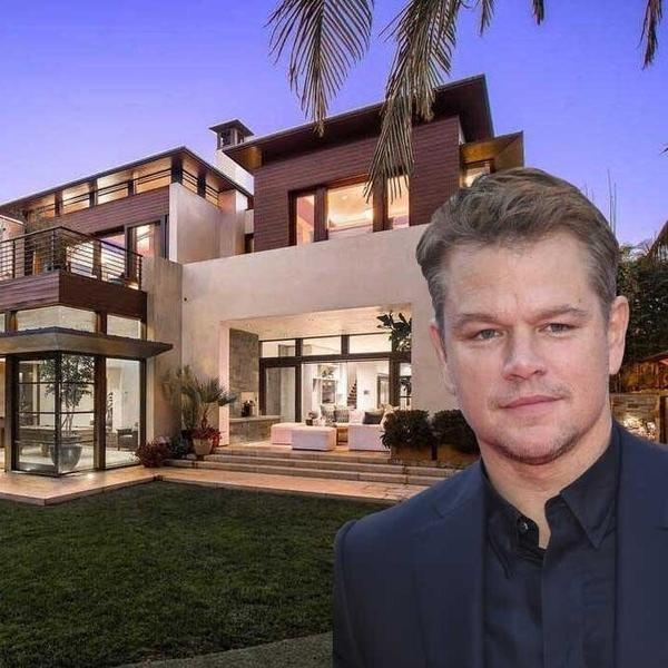 You Won't Believe What Matt Damon's House Costs