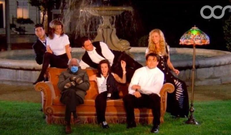 Bernie Sanders with Friends cast
