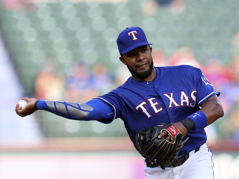 Texas Rangers shortstop Elvis Andrus