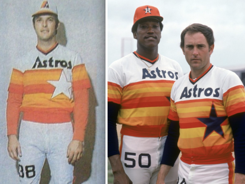 """Houston Astros """"Rainbow"""" jerseys"""