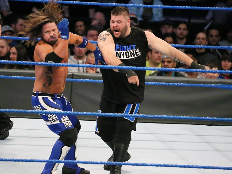 AJ Styles and Kevin Owens