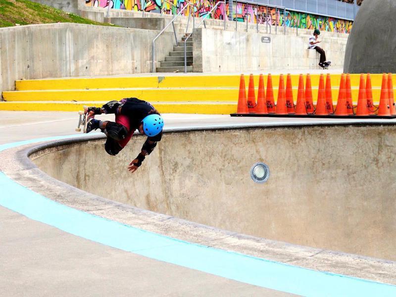 Lee and Joe Jamail Skatepark in Houston, Texas