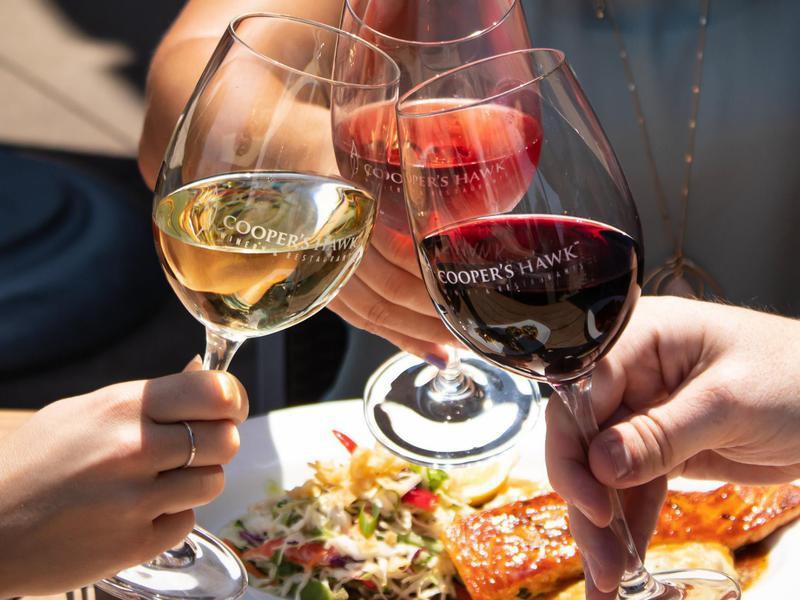 Cooper's Hawk Winery & Restaurant food