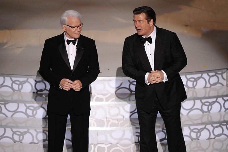 Alec Baldwin and Steve Martin