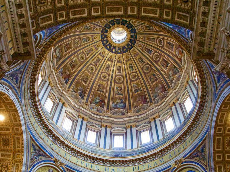 Saint Peter's Basilica interior
