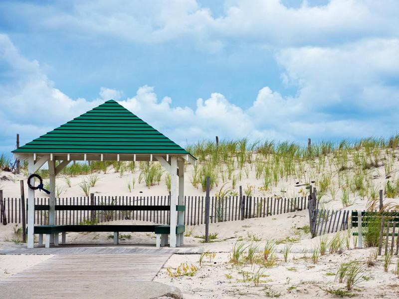Dunes at Seaside Park, New Jersey