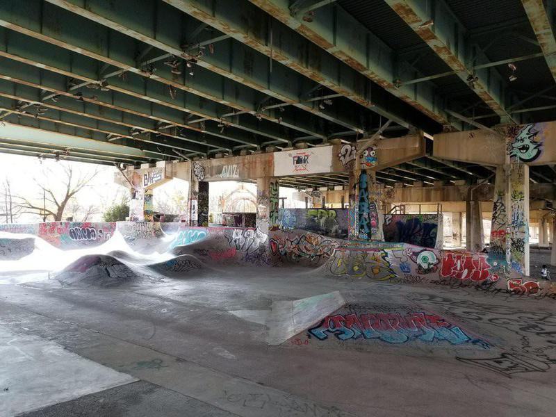 FDR Skate Park in Philadelphia, Pennsylvania