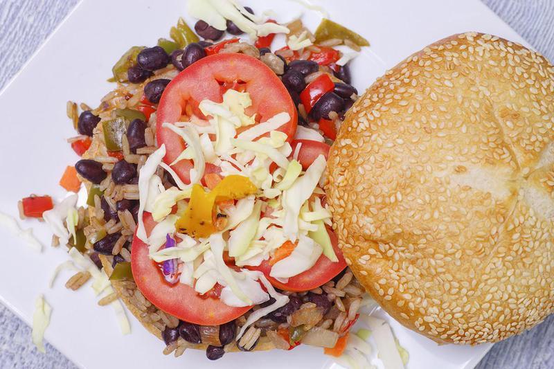 Burger Topping Ideas: Black Beans