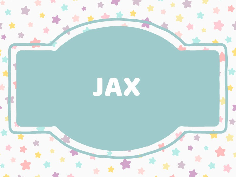 'J' Baby Boy Names: Jax