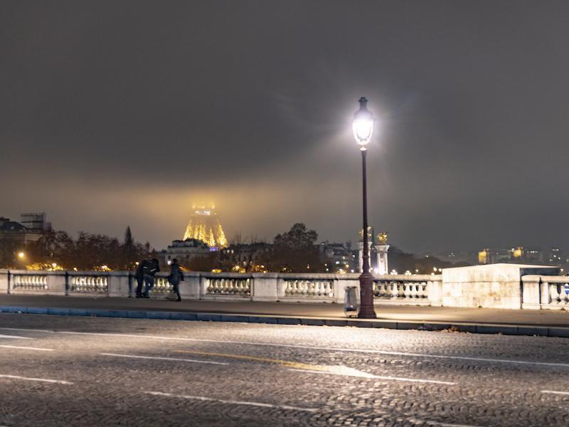 Paris fog