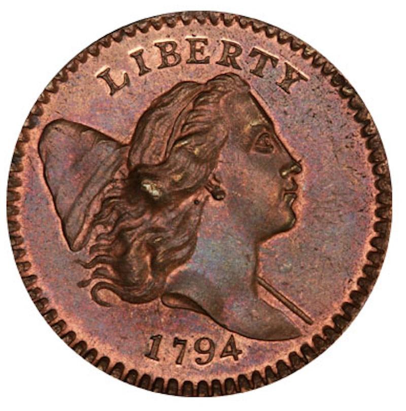 1794 Liberty Cap Half Cent