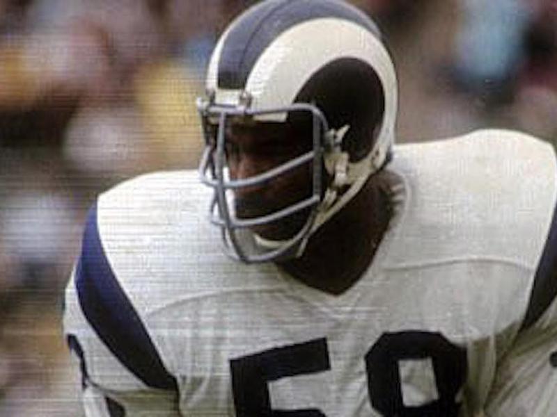 Los Angeles Rams linebacker Isiah Robertson
