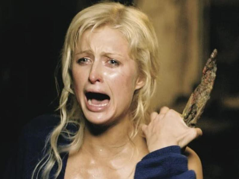 Paris Hilton in House of Wax