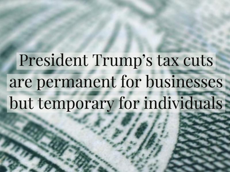 Permanent Corporate Cuts