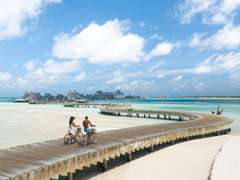Luxury eco-resort Maldives