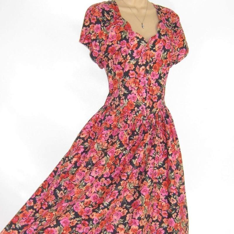 Laura Ashley-Inspired Dress