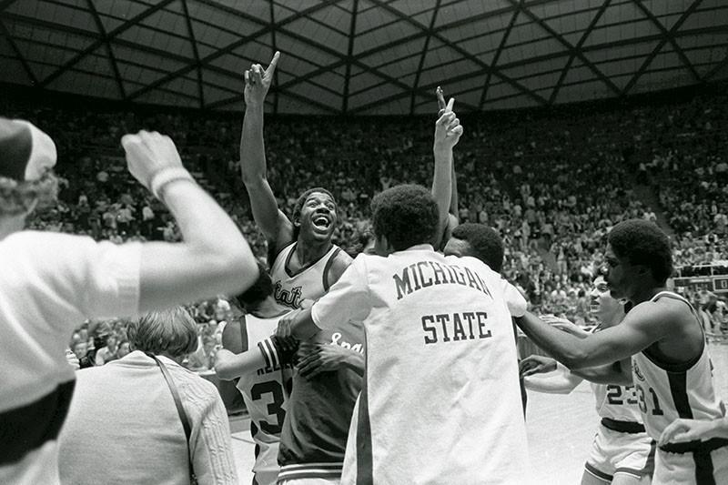 Magic Johnson and 1978-79 Michigan State Spartans