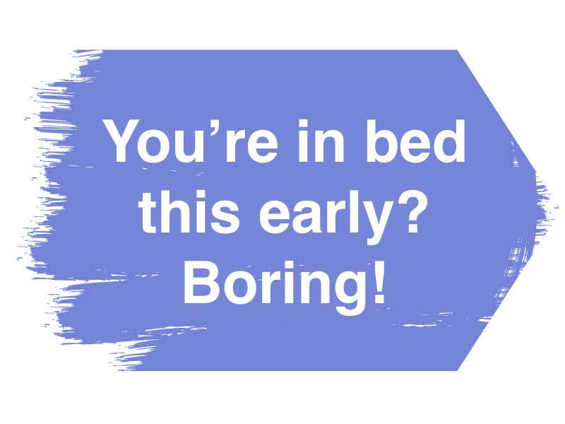 Who's boring?