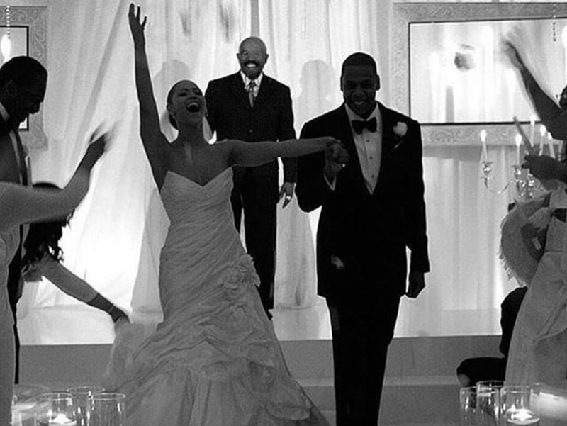 Beyonce's Wedding Pictures