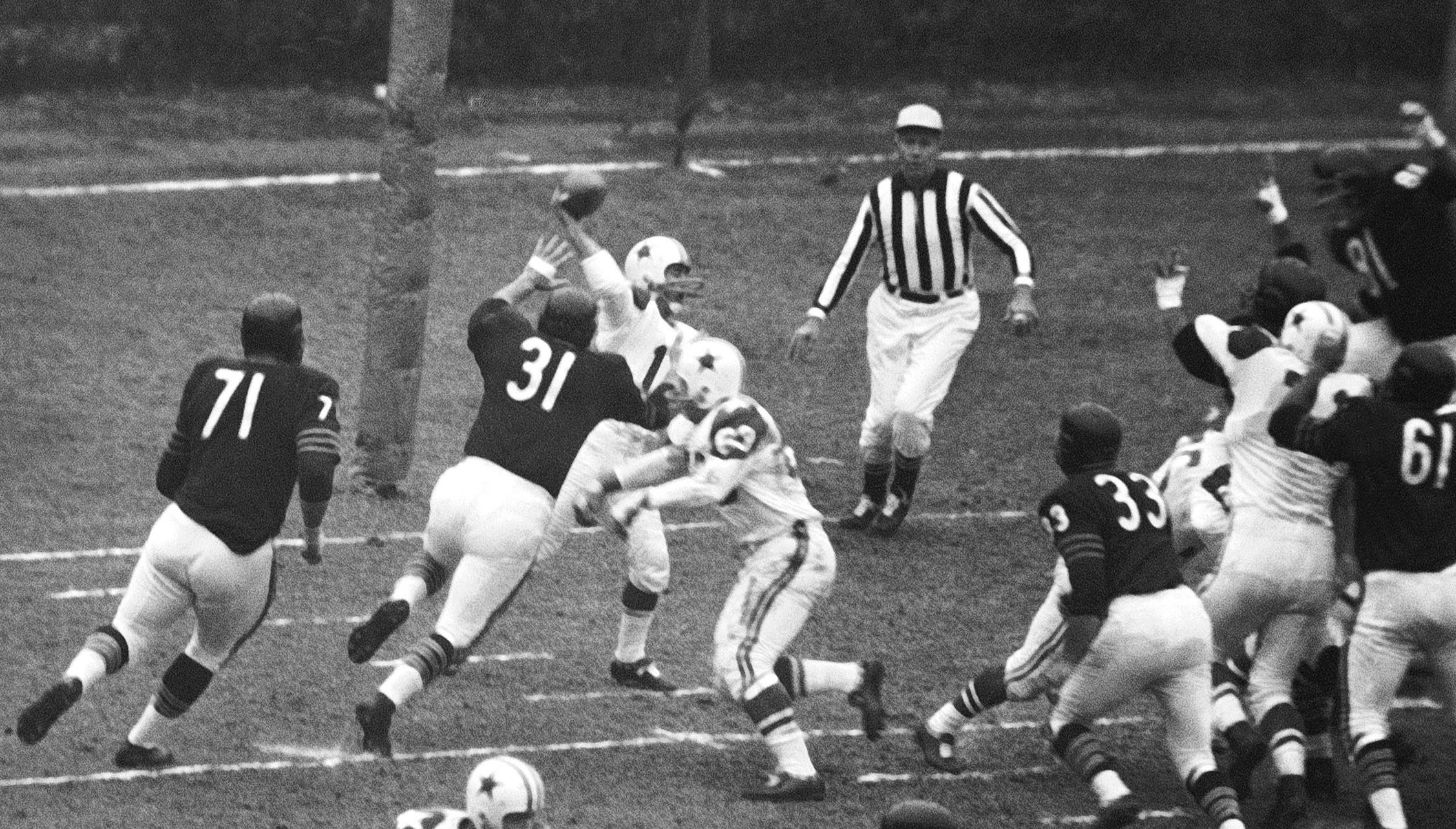 Joe Fortunato and 1963 Chicago Bears