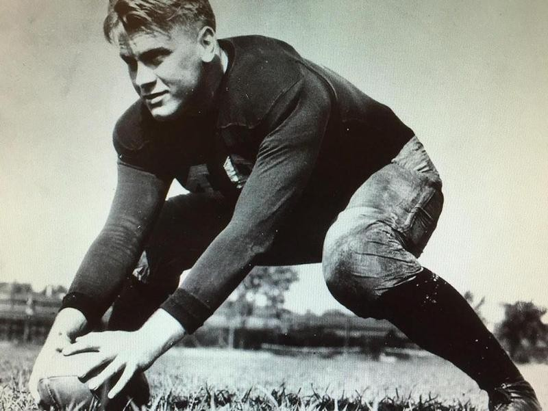 Gerald Ford in 1933