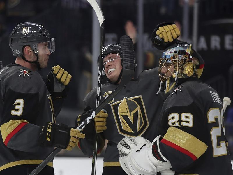 Las Vegas Golden Knights Celebrate