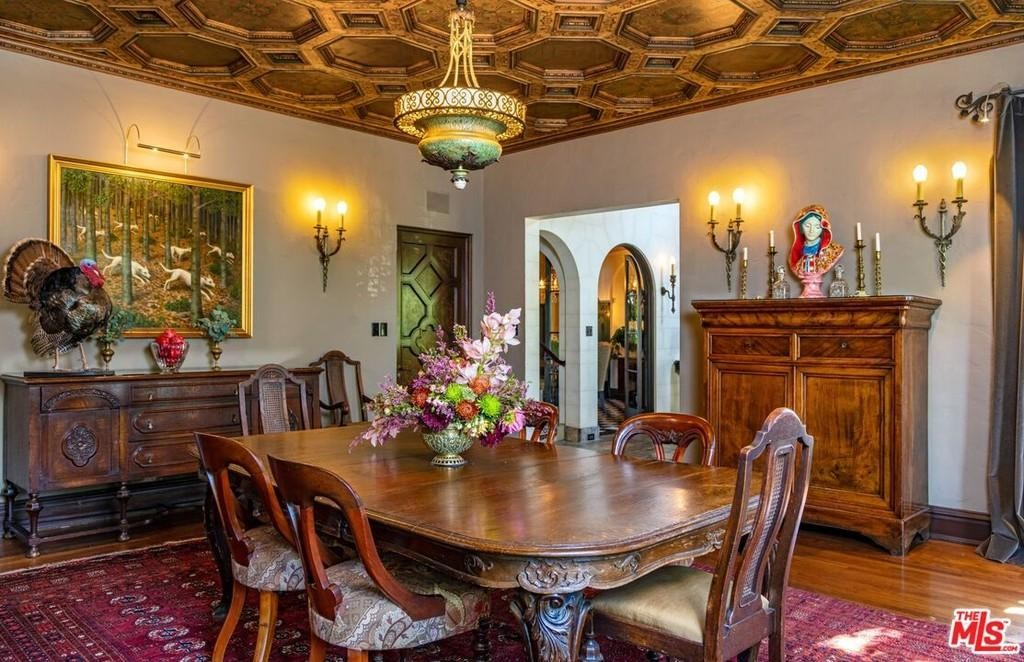 Another angle of dining room