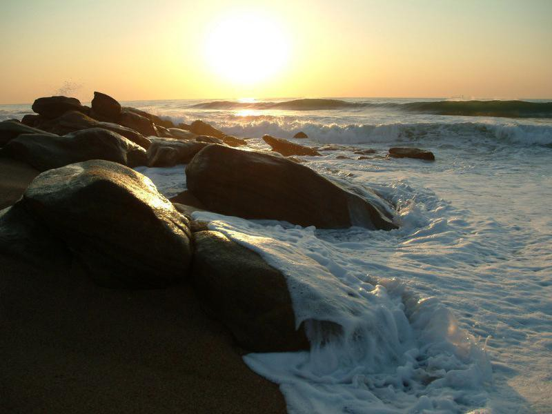 Sunrise over Umhlanga Rocks