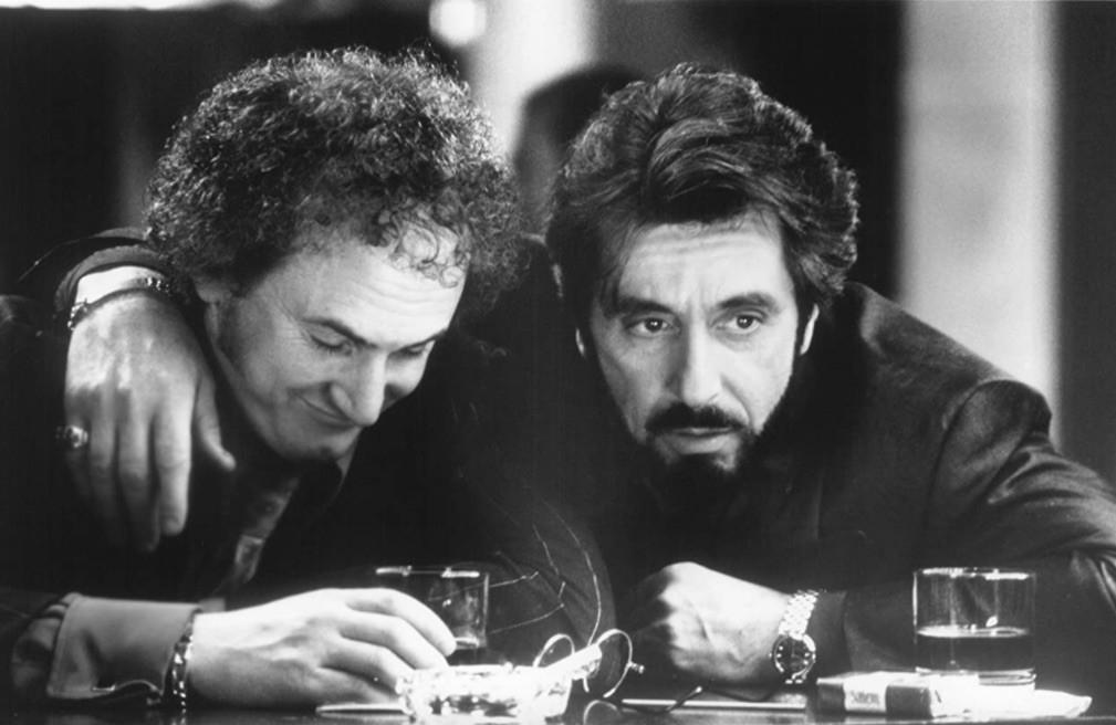 Al Pacino and Sean Penn in Carlito's Way