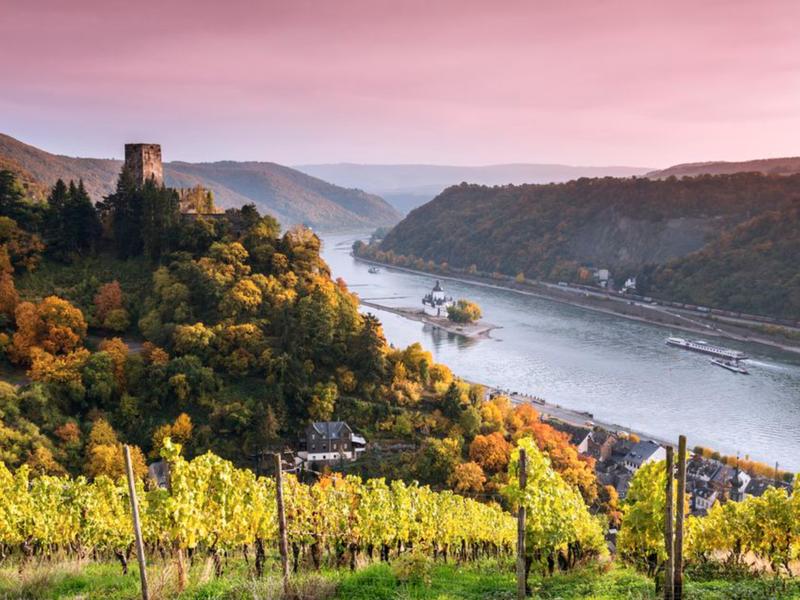 The Rhine River: Switzerland to the Netherlands