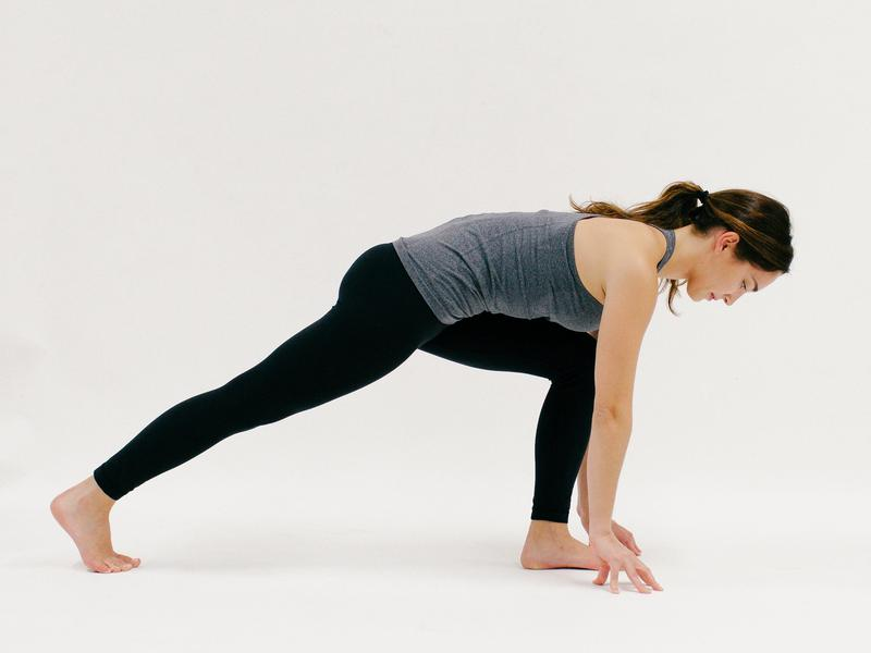 Low Lunge - 10 Minutes of Yoga to Jumpstart Your Work Day